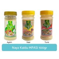 Nayz Kaldu MPASI Bayi Organik No MSG Rasa Ayam / Sapi / tuna 100g