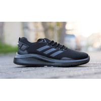 Sepatu Pria Sport Adidas Black Jack Trainer/Full Hitam/Sekolah
