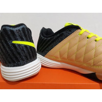 Promo Sepatu Futsal Nike Lunar Gato II Balsa Volt Black Diskon