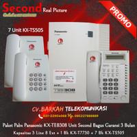 PAKET KOMPLIT Pabx Panasonic KX-TEB308 + 8 Pesawat Telepon