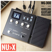 Nux MG300 MG 300 Modeling Guitar Processor Digital Efek