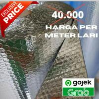 Peredam Panas Atap / Aluminium Foil Bubble Eceran 1 Meteran