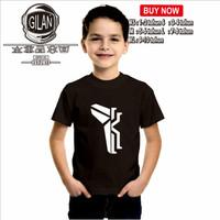 Kaos Baju Anak KYRIE IRVING KOBE BRYANT CROSS BASKET NBA SPORT - Gilan - XS