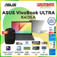 ASUS VIVOBOOK ULTRA K413EA i5-1135G7 8GB 512GB iRIS Xe 14 FHD OHS W10