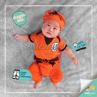 baju bayi jumper dragonball
