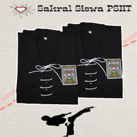 Atasan Sakral Siswa PSHT / Sakral Siswa PSHT / Baju Sakral