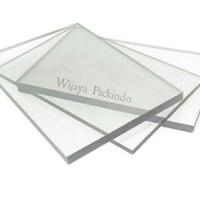 Polycarbonate Sheet 8mm Padat Clear / Polikarbonat Lembaran Solid