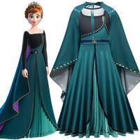 Kostum Baju dress gaun frozen elsa anna tutu pesta