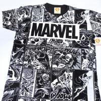 FALMAS KAOS DISTRO T Shirt Comic Marvel - Black