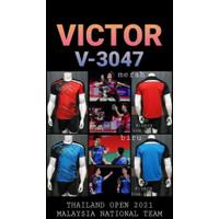 Baju kaos badminton bulutangkis Victor 3047 import GO