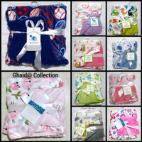 promo selimut bayi double fleece - hello kitty