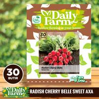 Benih Lobak Radish Cherry Belle - Daily Farm