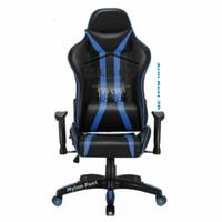 Kursi Gaming/Kursi Game + Bantalan/Gaming Chair - Biru