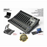 MIXER AUDIO ASHLEY LM8/8CHANNEL USB BLUETOOTH SOUNDCARD ORIGINAL