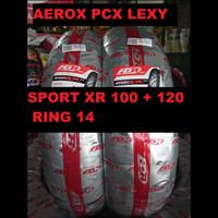 Paket FDR Sport XR EVO 100 80 & 120 70 ring 14 ban motor AEROX PCX