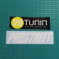 Cutting Sticker Stiker NFS Prostreet Bahan Oracal Germany