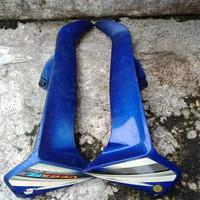 tebeng badong depan vega warna biru original