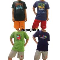 Setelan Baju Main Anak 100% Katun Usia 11-12-13 Tahun BEST SELLER