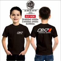 Kaos Baju Anak HONDA GANK simpel Logo Kaos Anak Motor Mobil Otomotif - - XS