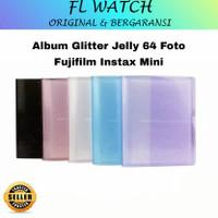 Album Glitter Jelly 64 Foto Fujifilm Instax Mini Polaroid 11 / 9 / 8