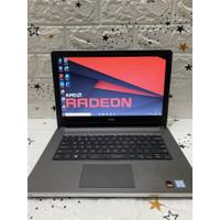 Laptop Dell Inspiron 5468 Core i5 Gen7 VGA AMD 2GB RAM 4/8GB SSD MURAH - 8GB SSD 128GB