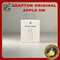 Charger Adaptor iPhone Original Apple 5W Indo EU Plug