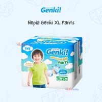 Nepia Genki XL pants 26 pampers diapers diaper bayi