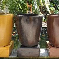 TERMURAH - Bak Mandi Marmer | Gentong Terasso 65x50cm WARNA CUSTOM