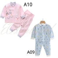 [9 Bulan - 4 Tahun] Baju Tidur Piyama Anak Motif EOBaby A09 A10