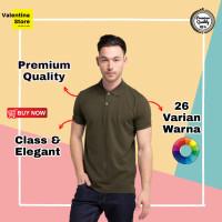 Kaos Polo Polos Pria Polo Shirt Pria Baju Polo Pria Premium Quality - M