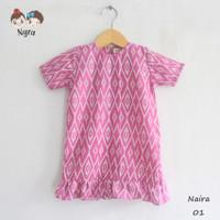 baju dress batik anak bayi / dress batik anak / baju batik anak