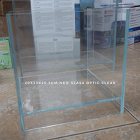 Aquarium Mini Optic Clear Glass 20x15x15