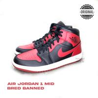 Nike Air Jordan 1 Mid Bred Banned 100% Original BNIB