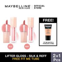 DEnisa R Maybelline Lifter Gloss Silk & Reef Liquid Lipstick Make Up