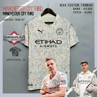 Jersey Baju Futsal Bola Sepak Bola Grade Ori Puma Manchester City