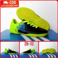 Sepatu Futsal anak anak baby sepatu futsal anak - Hitam Hijau, 32