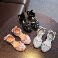 Sepatu Anak PRINCESS TOWN flat Shoes Perempuan import