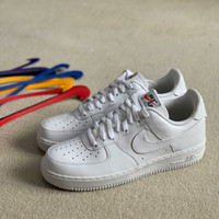 Nike Air Force 1 Velcro White Swoosh Pack (100% Original) - 40