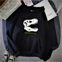 Sweater anak hoodie SHINE BRIGHT LIKE A DINO Baju anak laki laki Jaket