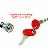 Lock set shad Rumah kunci box motor shad original universal housing