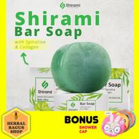 Sabun Muka Hilangkan Jerawat Wajah - Sabun Shirami BPOM 100 gr - 1 pcs