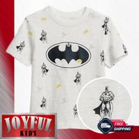 Baju Anak Laki-laki / Kaos Anak Laki-laki BAT SUPERHERO 1 - 10 Tahun