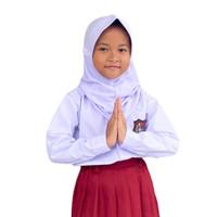 Seragam Sekolah Baju SD/MI Kemeja Putih Lengan Panjang Kelas 1-6