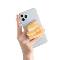 Popsocket food boba panda phone holder murah cake burger kentang