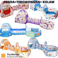 Mainan Tenda Terowongan Kolam Portable Baby Playground Tent Kids
