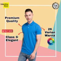 Kaos Polo Polos Pria Polo Shirt Pria Baju Polo Pria Cowo Kaos Kerah - XL
