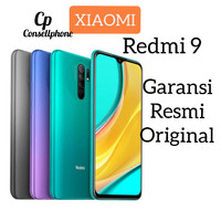 Xiaomi Redmi 9 3/32 Garansi Resmi