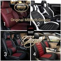 Sarung Jok Mobil CRV Brio Yaris Fiesta Bahan Mbtech Giorgio 2 baris