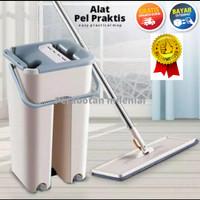 Alat pel praktis scratch mop cleaning mop alat kebersihan lantai