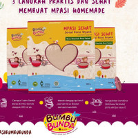 (HALAL MUI) Sereal Tepung Organik MPASI Bubur Bayi Organic Rice Flour
